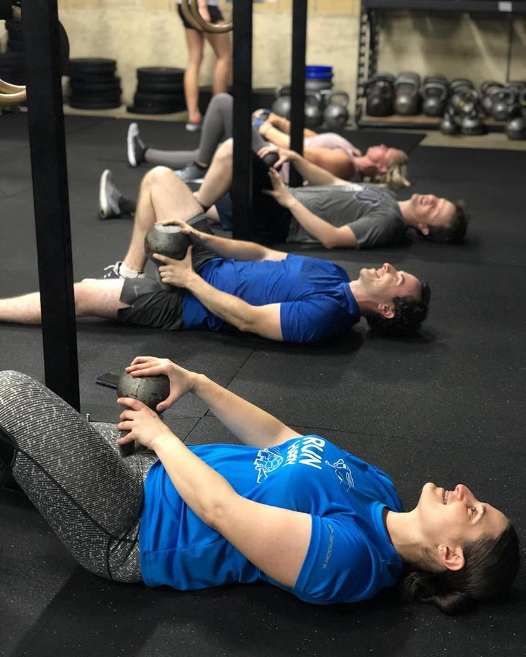 """""""I was diagnosed with adhesive capsulitis, also known as a frozen shoulder. From my time at CrossFit City Limits, I have seen my shoulder mobility and strength continue to get better and better. I'm stronger, I feel better, and know my shoulder will NOT be a handicap in anything I choose to do."""" - Stan P"""