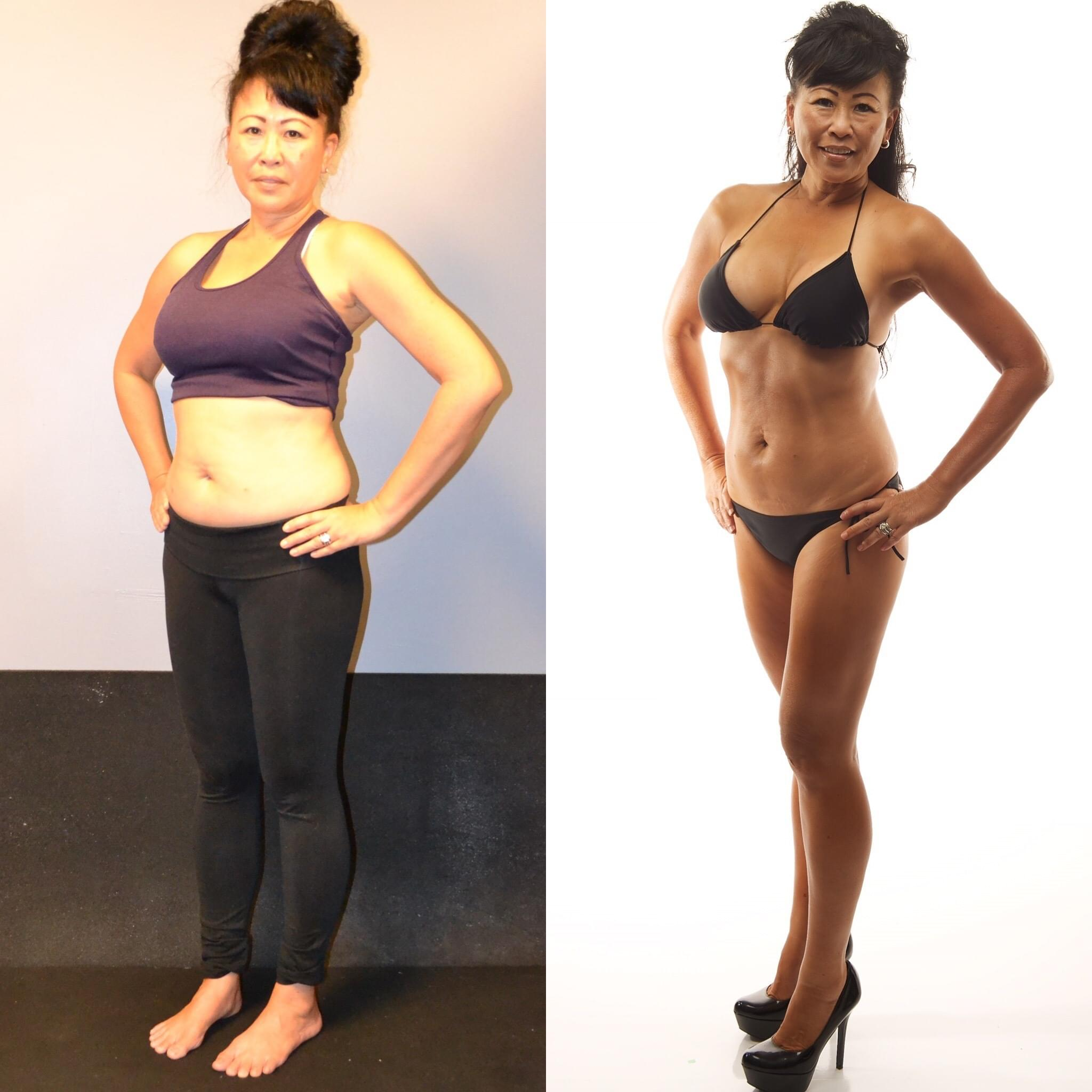 Think you're WAY too busy to get lean and get fit? Read Nikki's Story... - My life was unbalanced: too much work, high anxiety, high cholesterol, metabolism and hormones changing. I had to do something about it, but was intimidated when I first walked into CrossFit to accept the TRANSFORM Challenge. Encouragement and guidance from Keoni the coaching staff made the difference. I'll do this for life, one step at a time.-Nikki Brissette