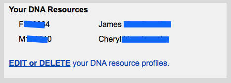 GEDmatch DNA resources