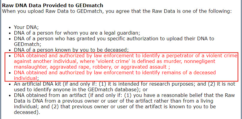 GEDmatch Opt-In for Law Enforcement — Your DNA Guide