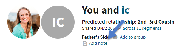Organize DNA matches label AncestryDNA add note.png
