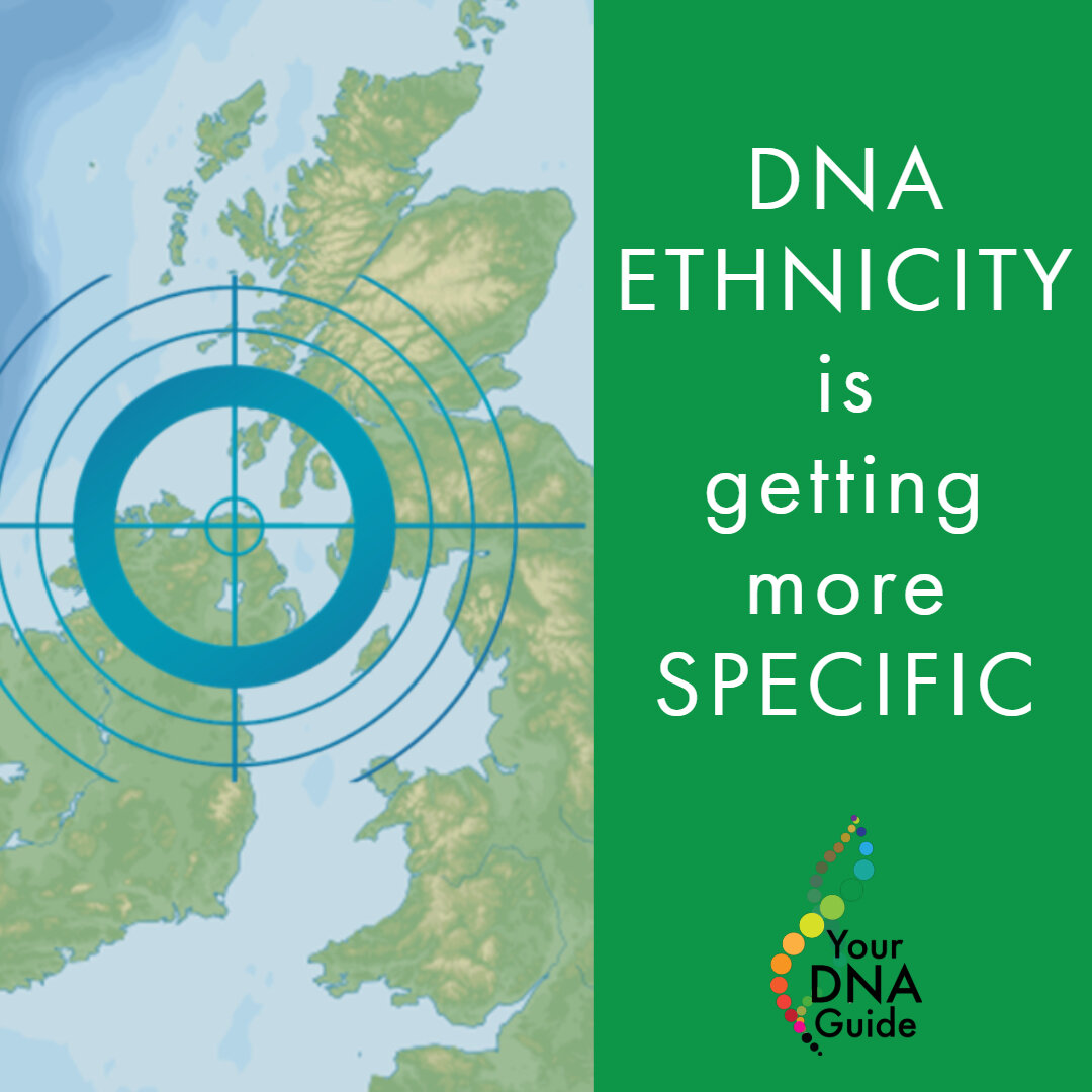 DNA Ethnicity is Getting More Specific