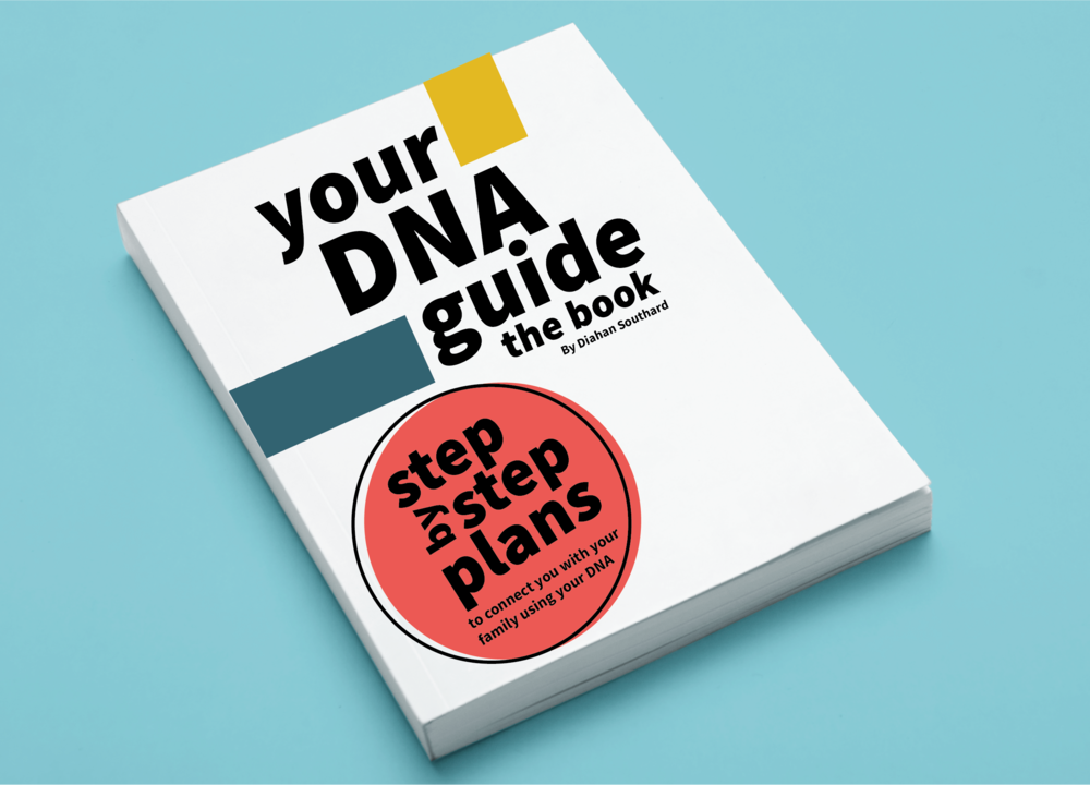 Get step-by-step instructions to using DNA matches (and THEIR trees) to build YOUR family tree in   Your DNA Guide—the Book   .