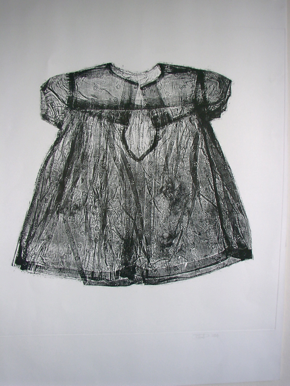 ETCHING - GIRLS DRESS