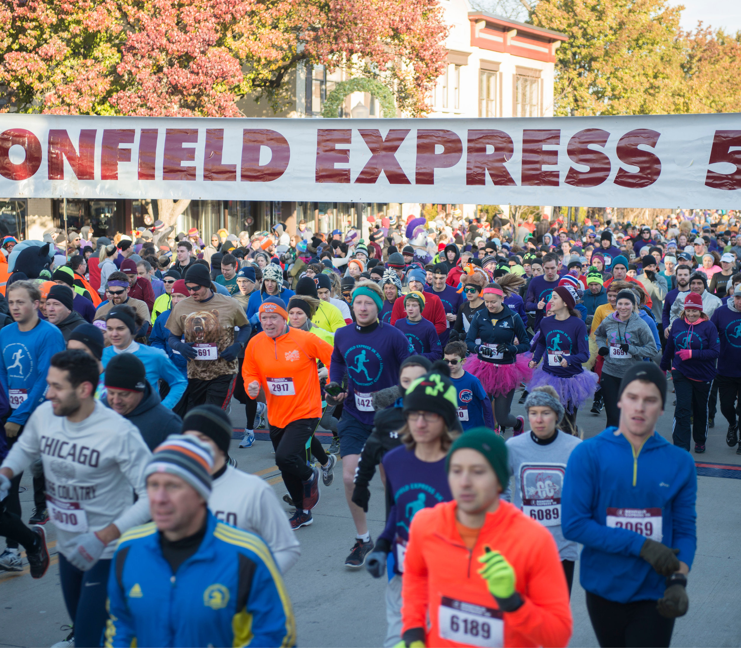 Online registration for the Bonfield Express 5K is now open.
