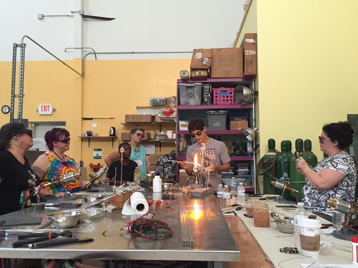 2016 International Society of Glass Beadmakers workshop