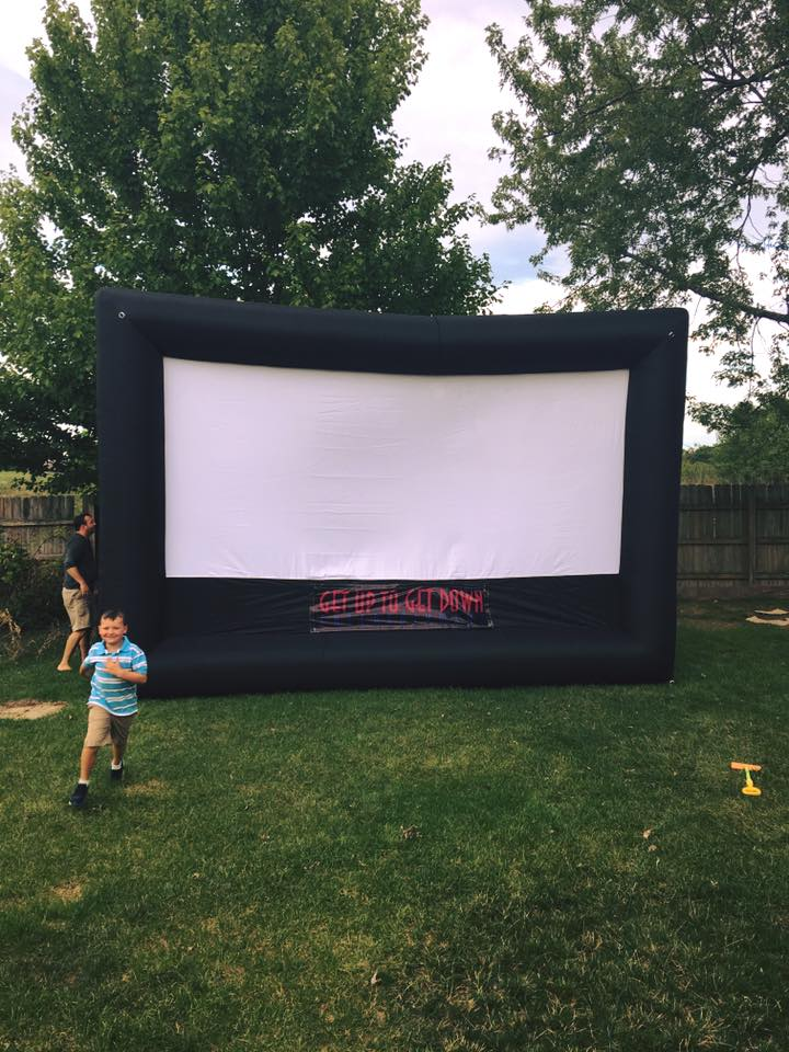 Large Outdoor Movie Screen, Fort Wayne, IN
