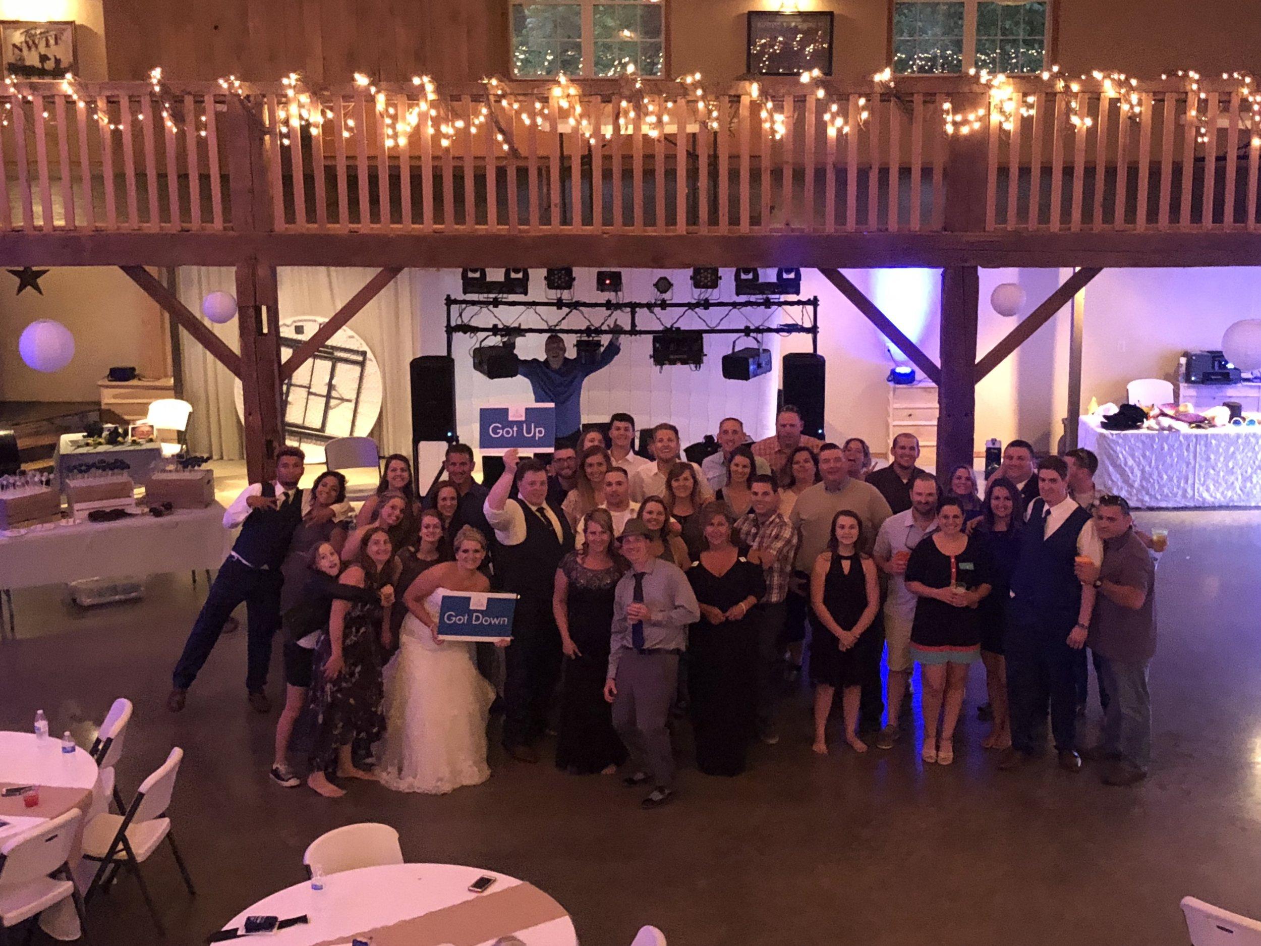 Wedding DJ Reception near Warsaw, IN