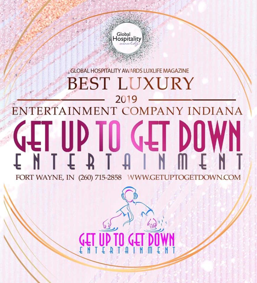 Best Luxury Entertainment Company - Indiana - Lux Life Magazine Hospitality Awards 2019