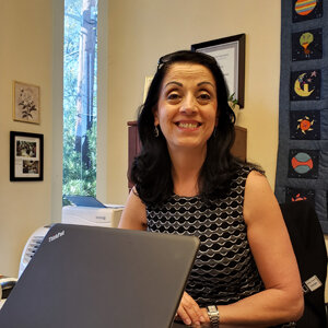 Nahla Nasser, Principal  - Ms. Nasser has worked in Montessori education for over two decades, first as a teacher and later as a principal. She can answer your questions about a wide range of topics, from admission to campus life to graduation.