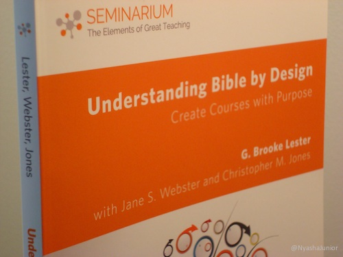 My copy arrived! Check out  Understanding Bible by Design !