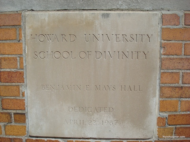 Howard University School of Divinity  Open House Wed Oct 16th 2-4pm For more info, call 202-806-0500