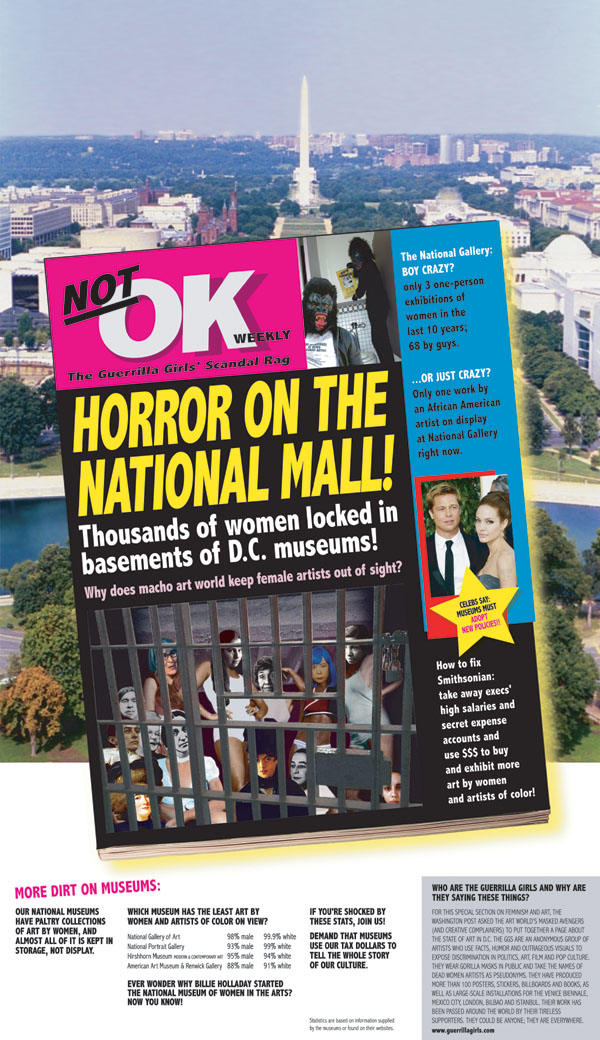 HORROR ON THE NATIONAL MALL! Thousands of women locked in basements of D.C. museums!