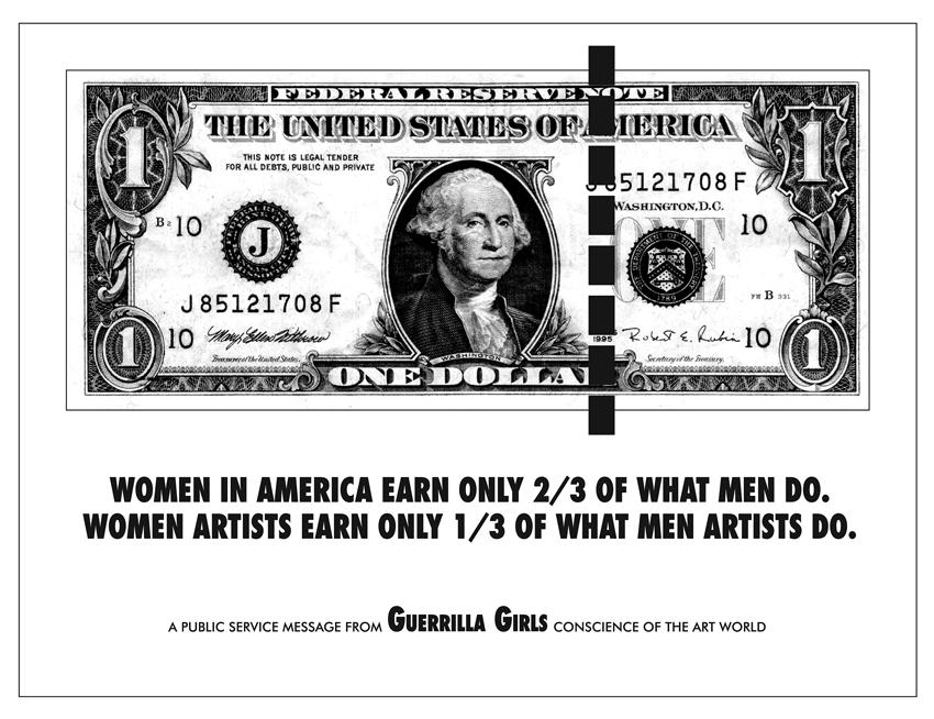 WOMEN IN AMERICA EARN ONLY 2/3 OF WHAT MEN DO.