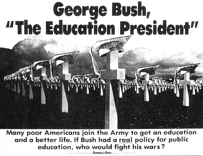 "GEORGE BUSH, ""THE EDUCATION PRESIDENT"""