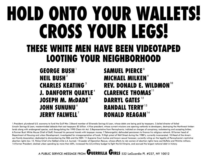 HOLD ONTO YOUR WALLETS! CROSS YOUR LEGS!