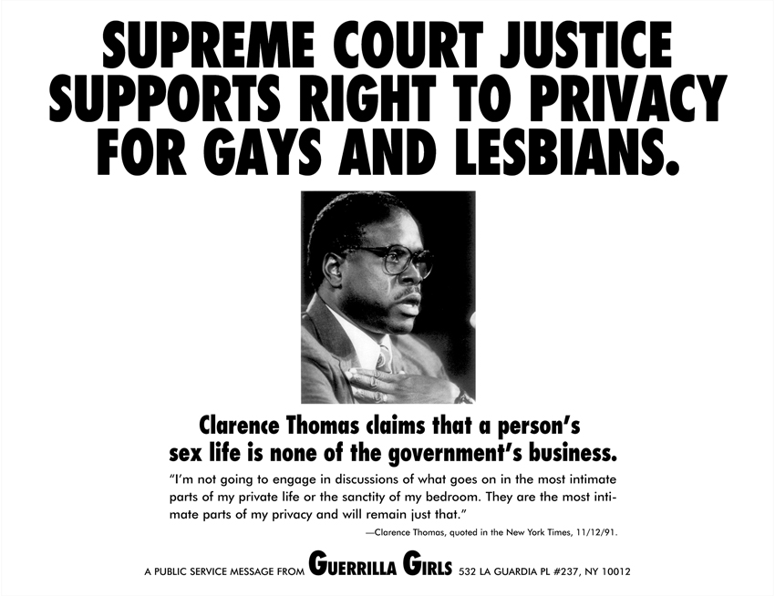 SUPREME COURT JUSTICE SUPPORTS RIGHT TO PRIVACY FOR GAYS AND LESBIANS.
