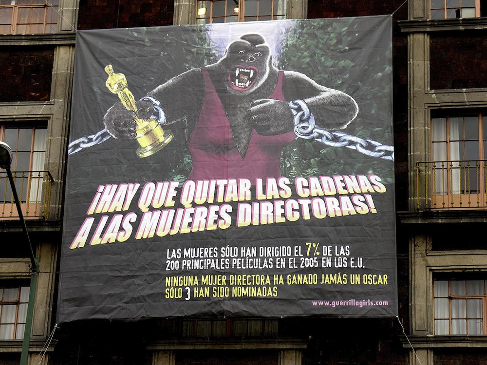 UNCHAIN THE WOMEN DIRECTORS! (SPANISH) - MEXICO CITY BILLBOARD