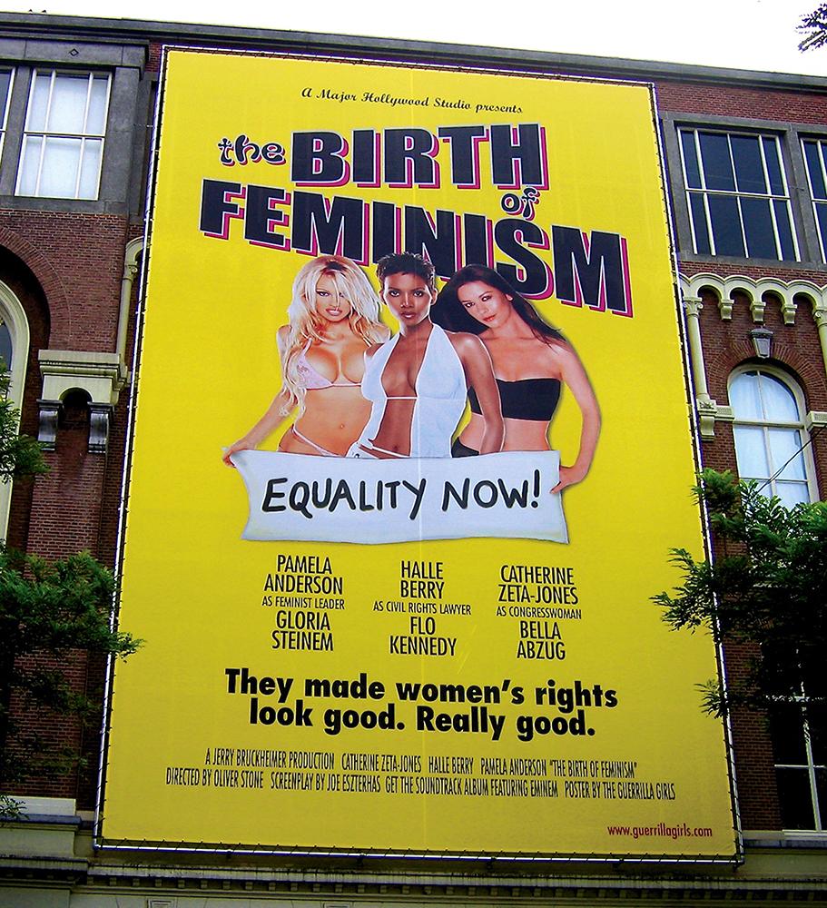 THE BIRTH OF FEMINISM, ROTTERDAM BANNER