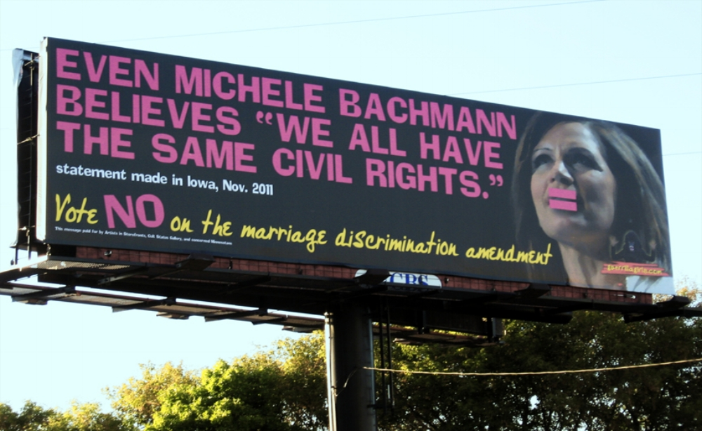 "EVEN MICHELE BACHMANN BELIEVES ""WE ALL HAVE THE SAME CIVIL RIGHTS"""