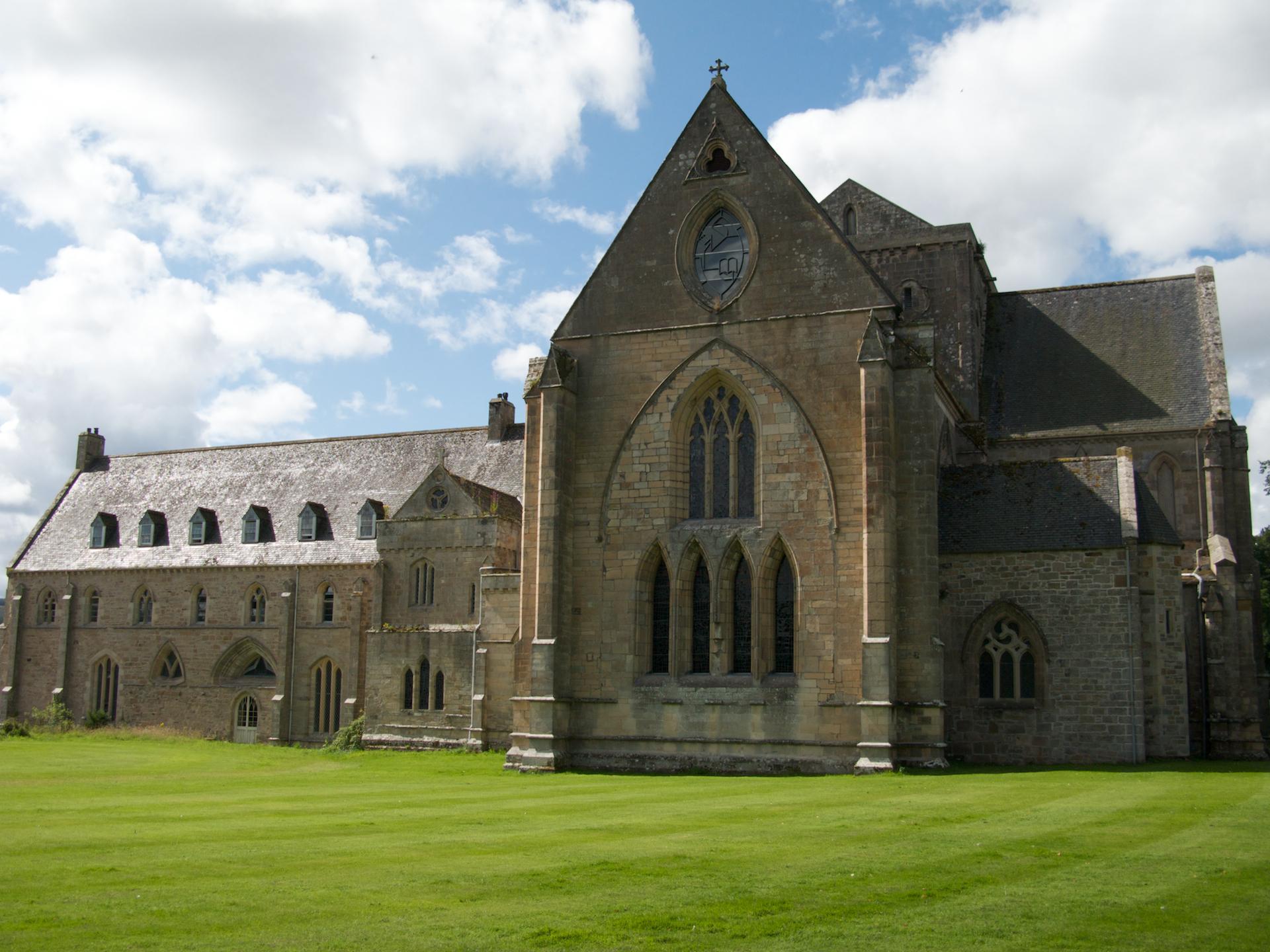 The East Range of Pluscarden Abbey