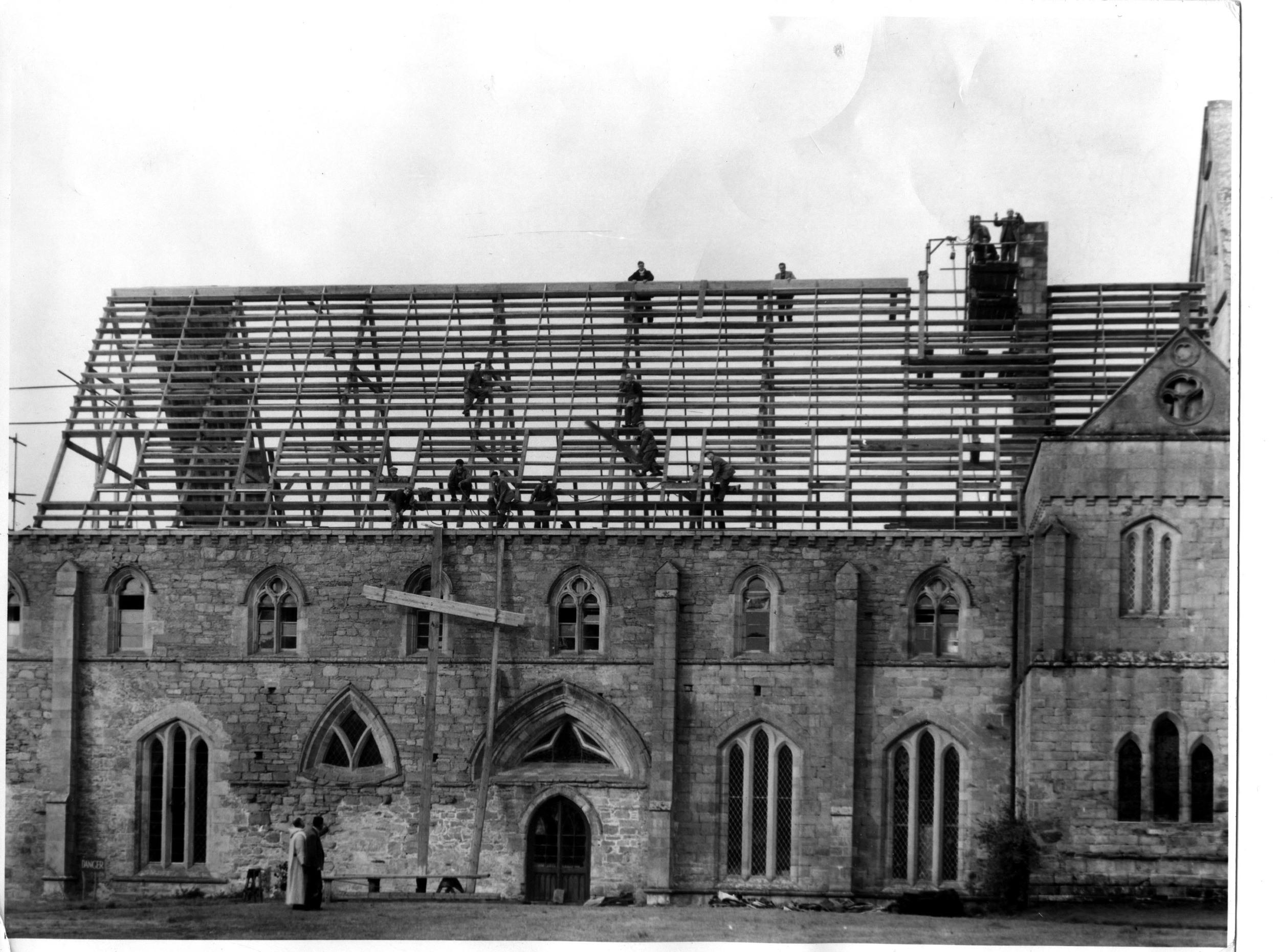 Restoration work in the 1960s