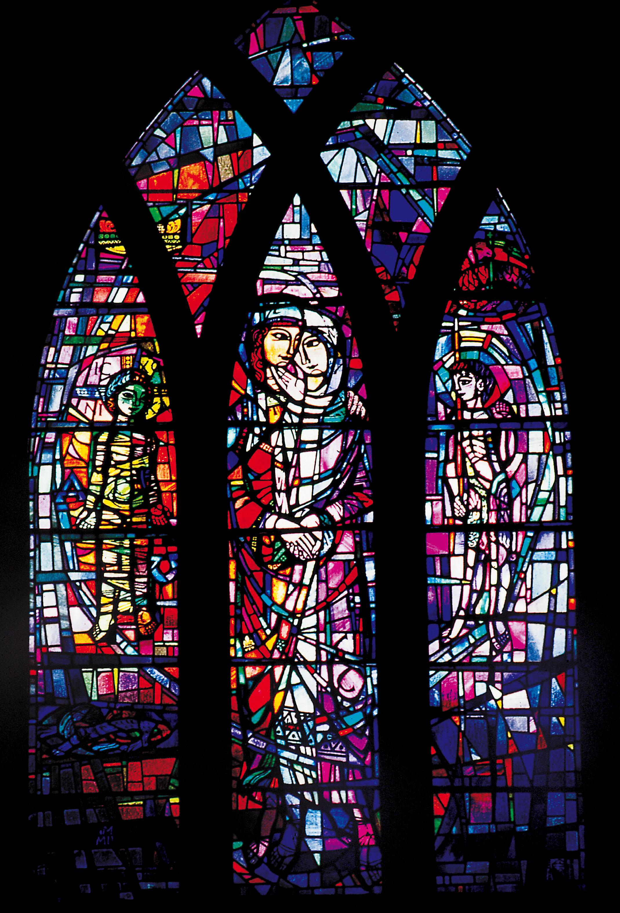 The Visitation : North Transept.