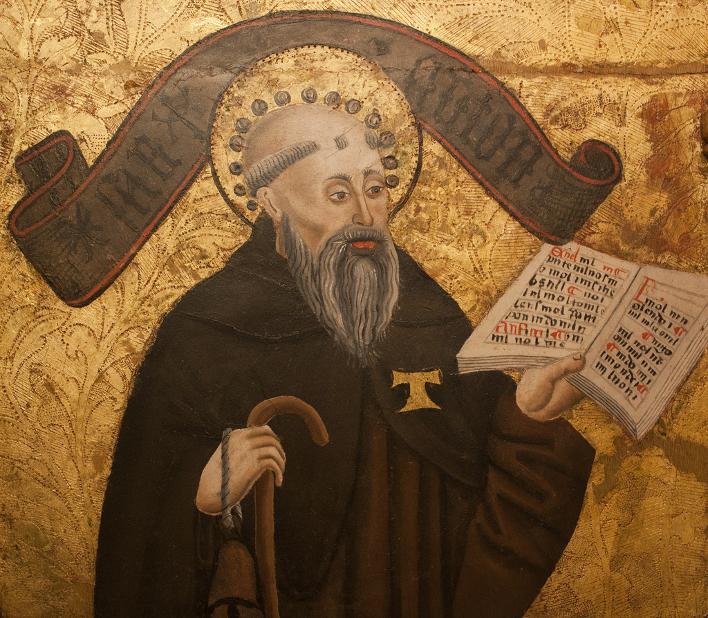 St. Anthony of Egypt. Image by Lawrence OP