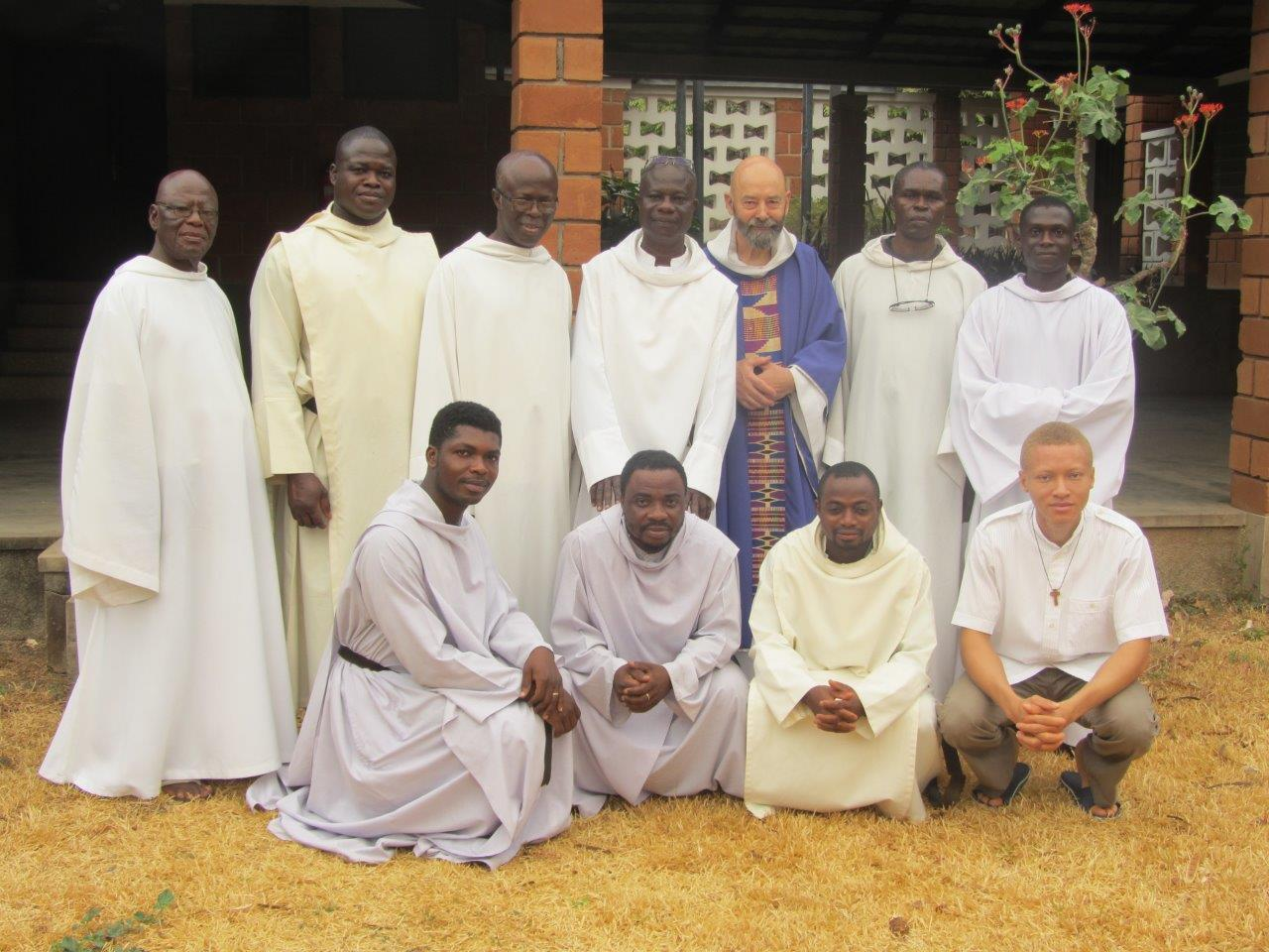 The Kristo Buase Community with Fr. Giles