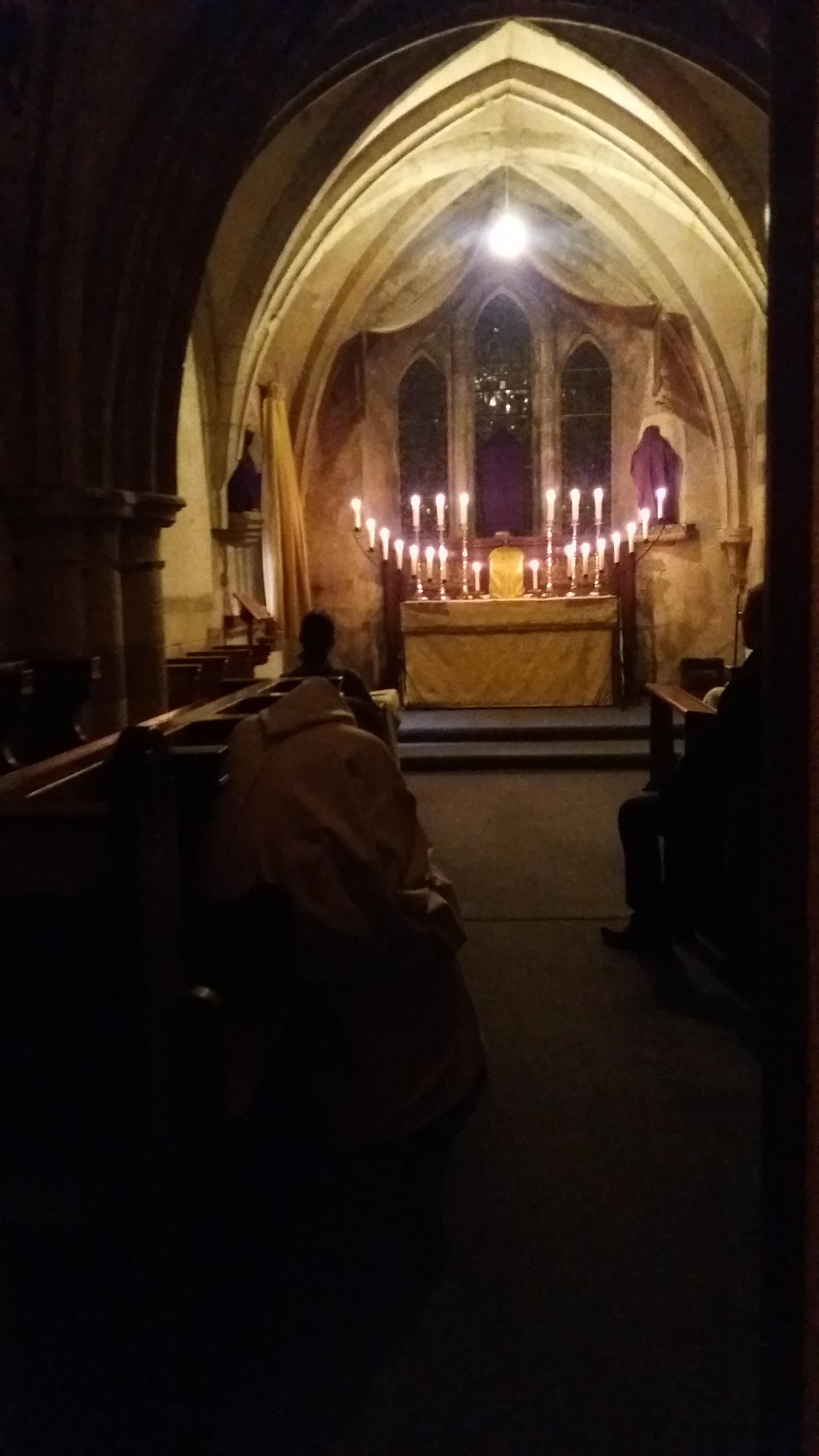 The Altar of Repose, Holy Thursday