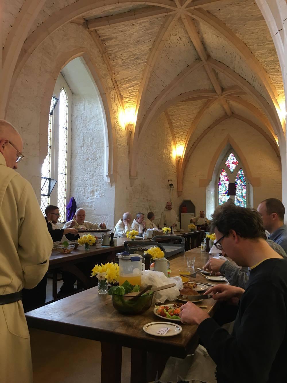 The Agape supper on Holy Thursday evening.jpg