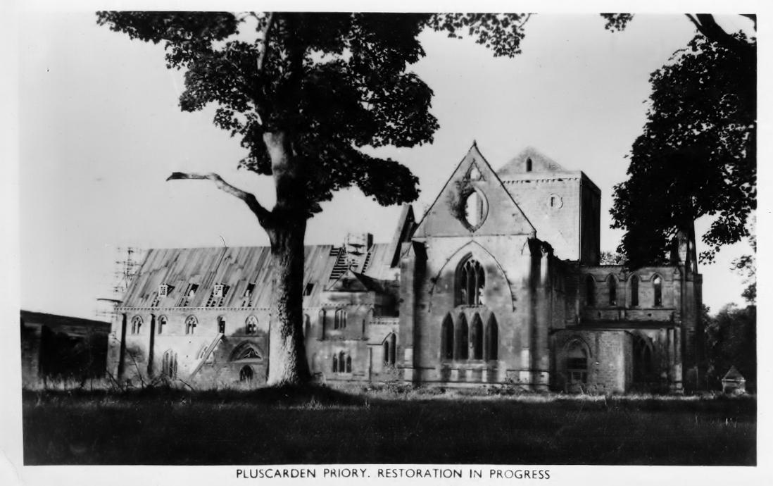 Early restoration work