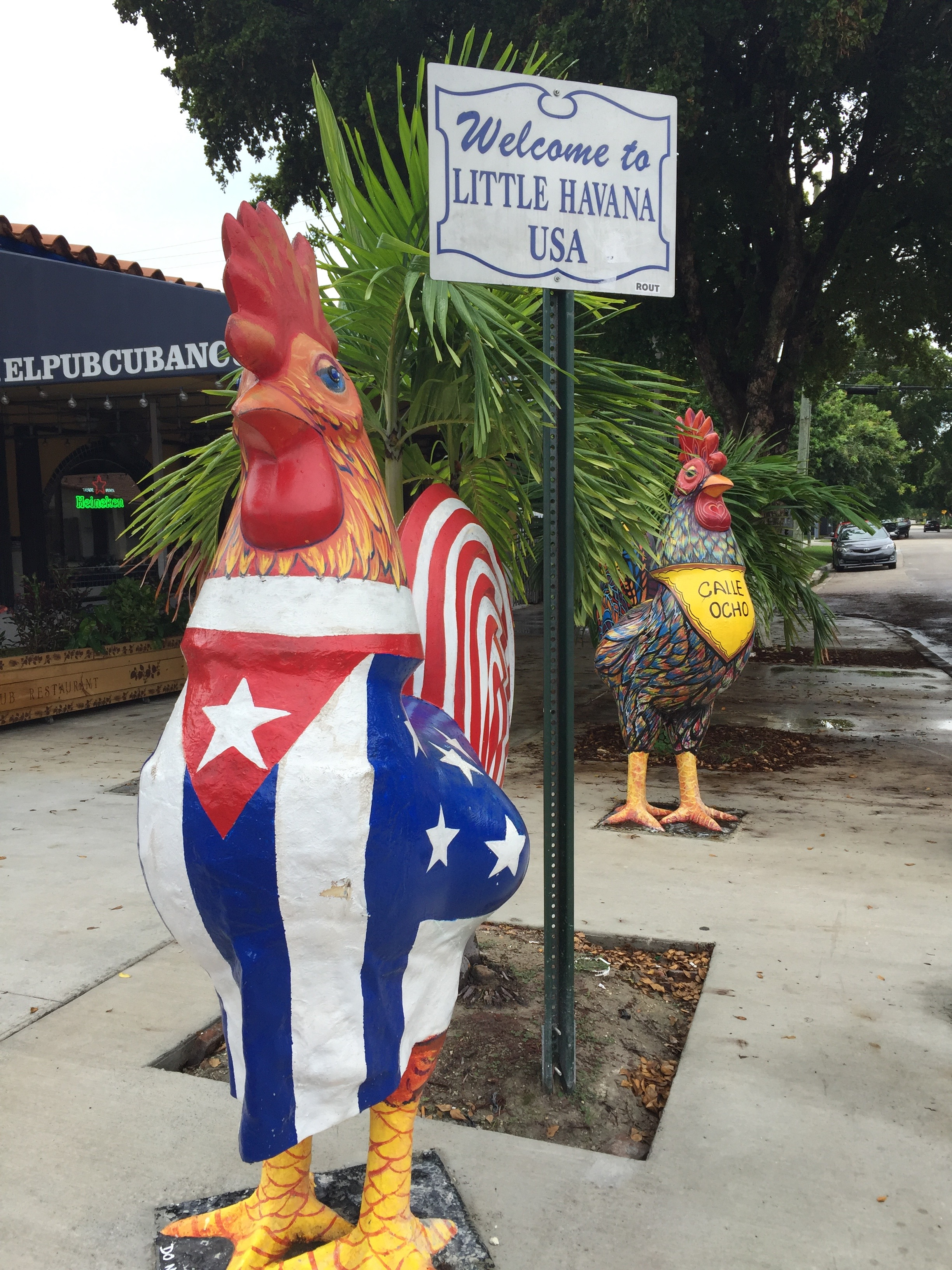 If I lived in Miami I would be over-caffeinated and suffer from overeating, because I would have to live near Little Havana.  Really couldn't get enough Cuban coffee and food, so yummy.