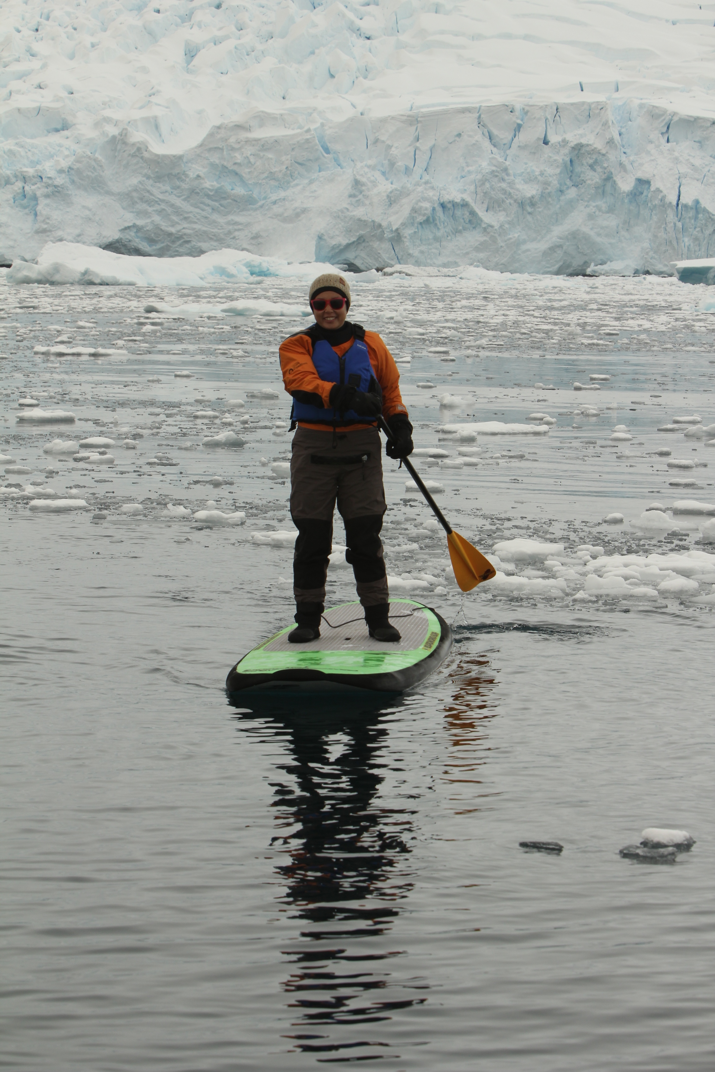 Standup paddleboarding in Antarctica spoiled me for all future SUP adventures.