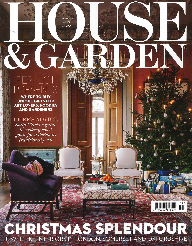HOUSE & GARDEN UK MAGAZINE DECEMBER 2018