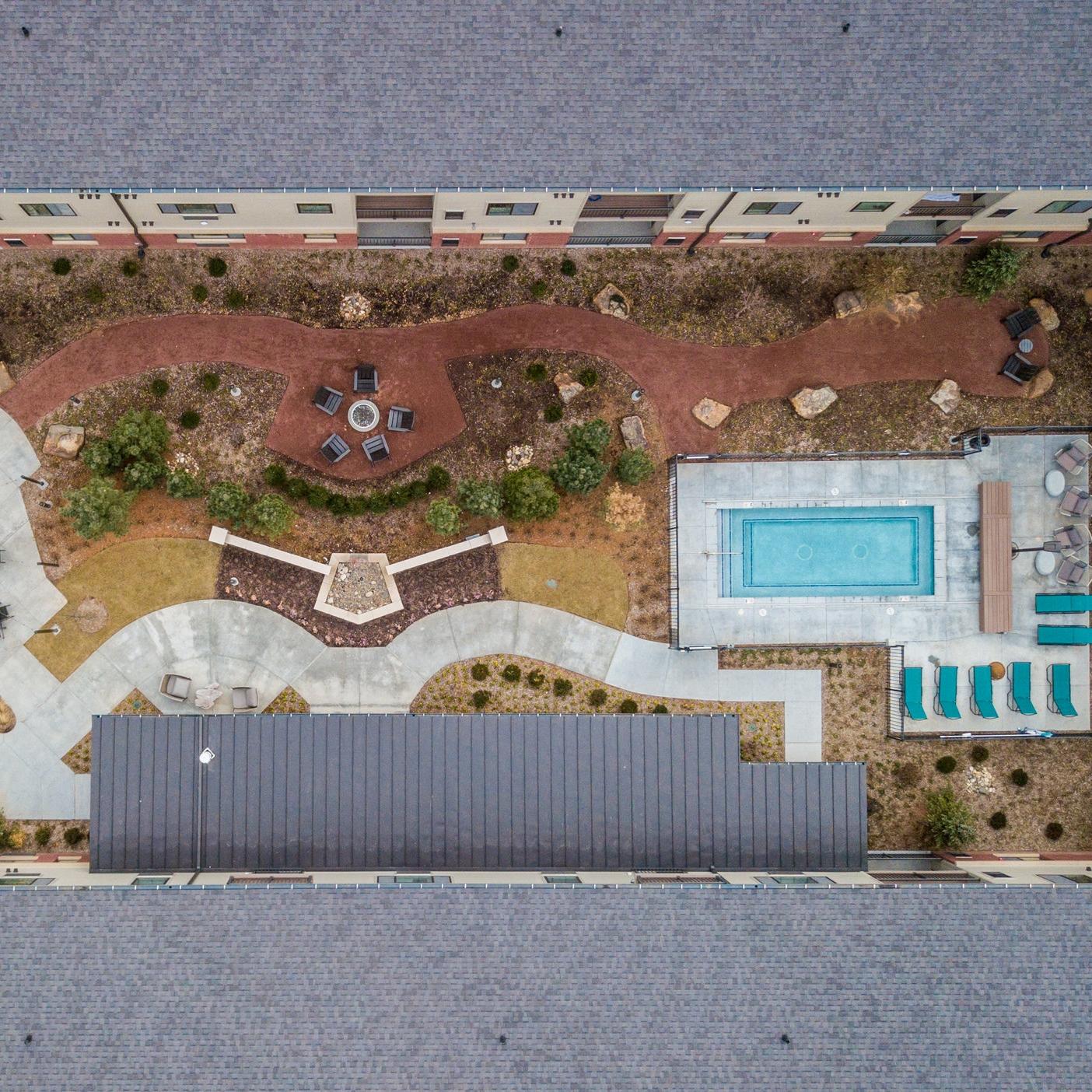 Apartment aerial photos drone videos