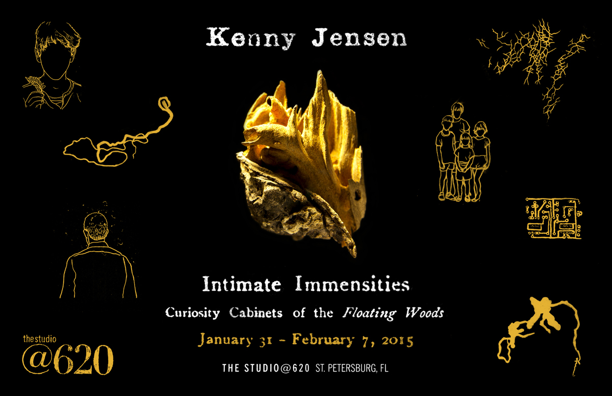 Intimate Immensities Exhibition Promotional Postcard