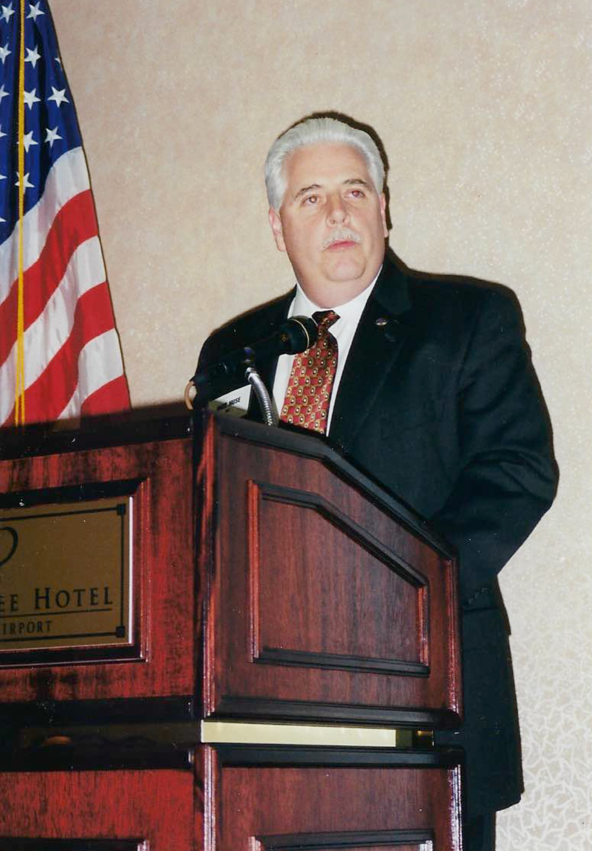 Mike Speaking as President of QFC