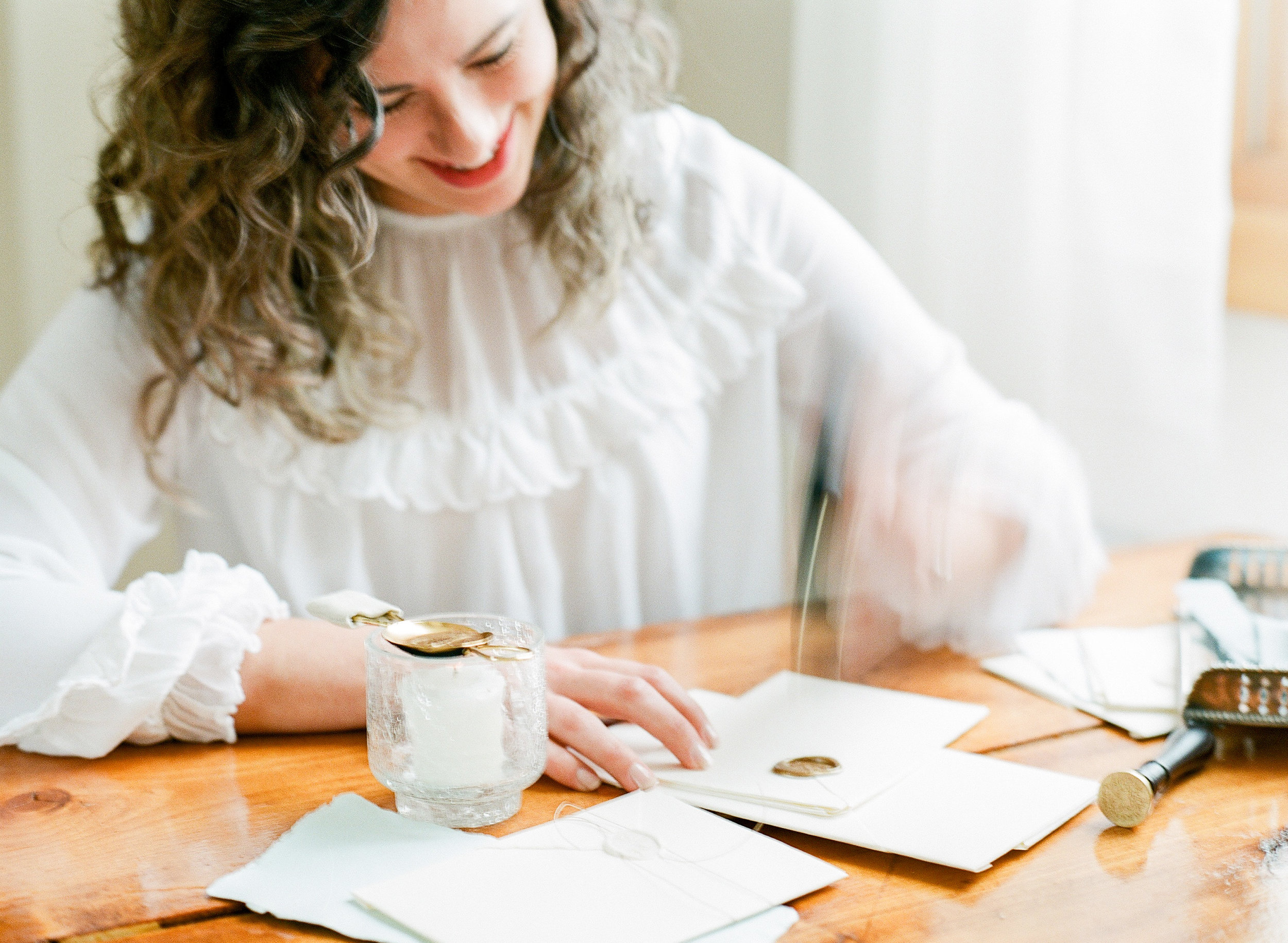 Calligraphy tools and tips for new business owners from Ciarra Claire Fine Art.