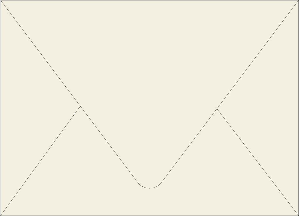 Envelope Color: Cream Puff