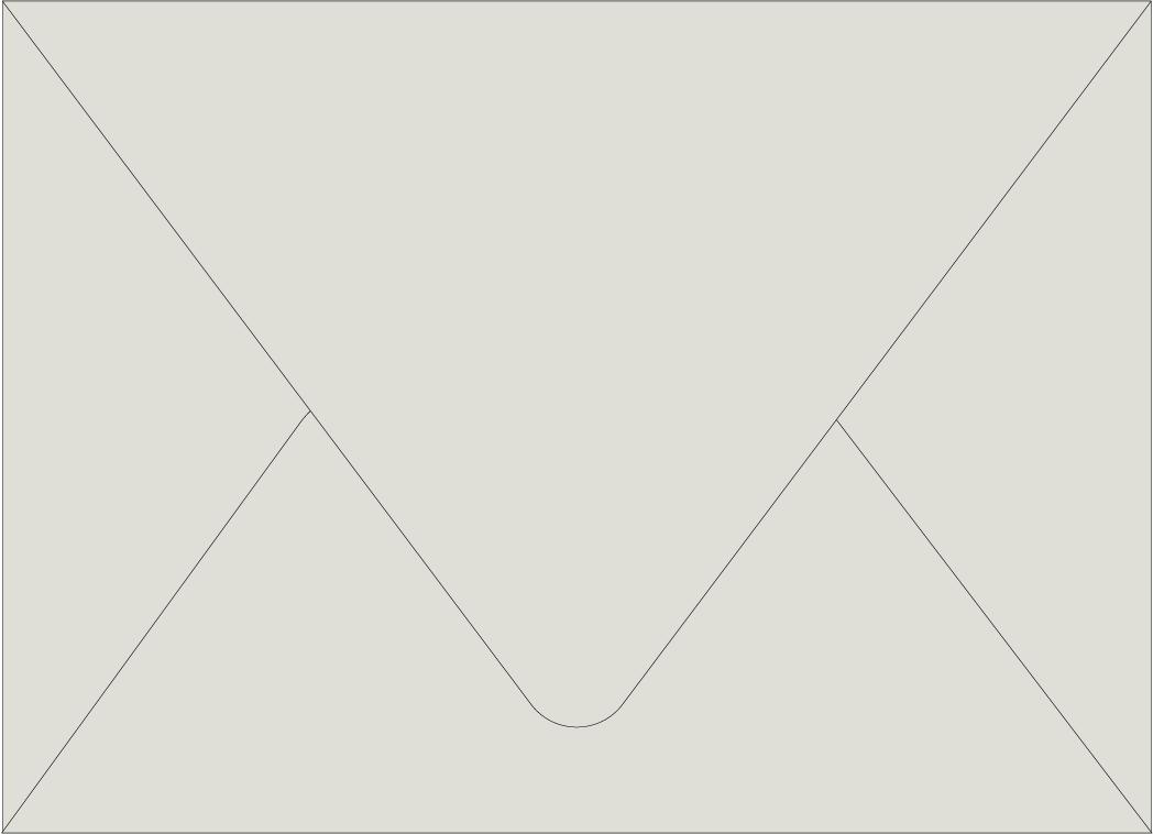 Envelope Color: Pale Gray