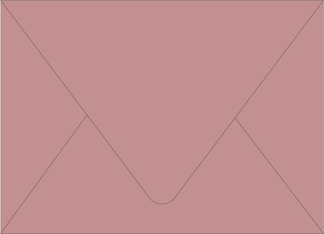 Envelope Color: Dusty Rose