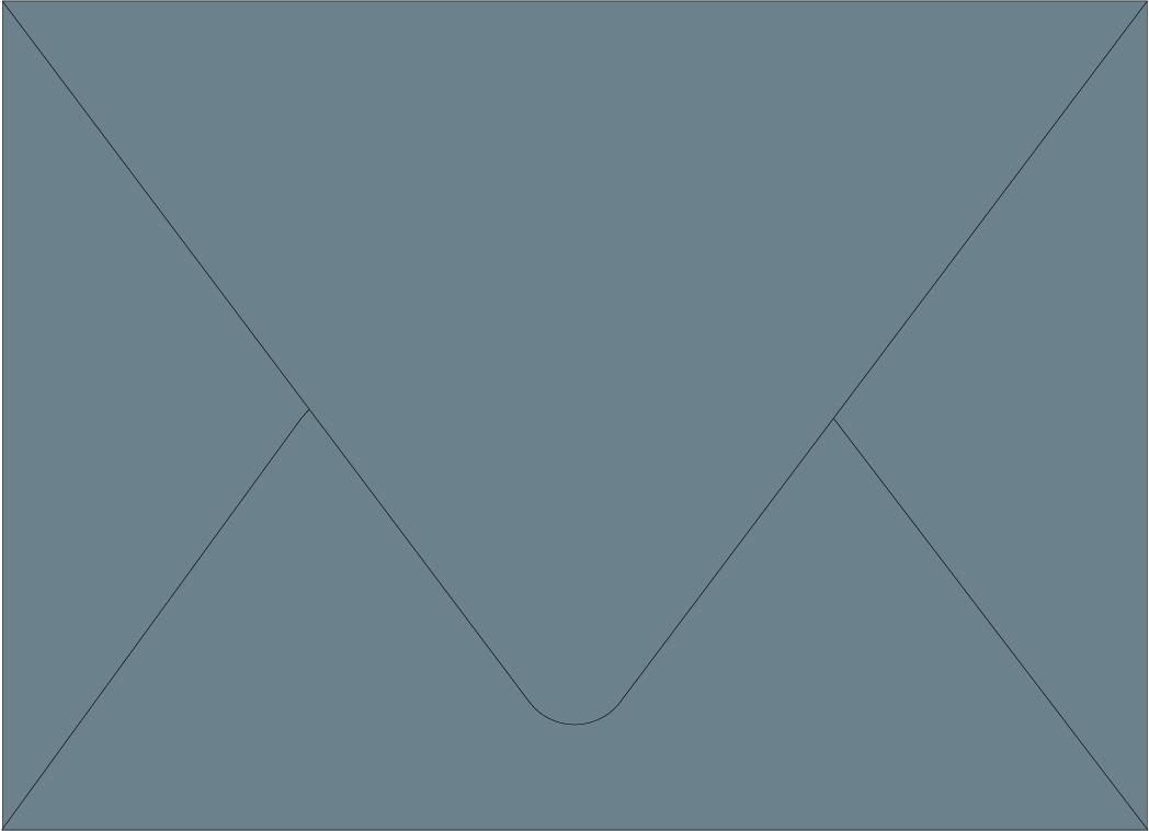 Envelope Color: Dusty Blue