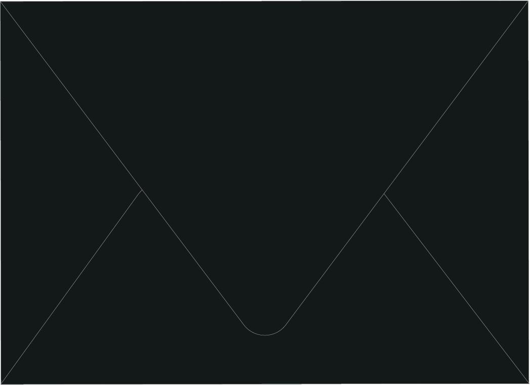 Envelope Color: Ebony Black