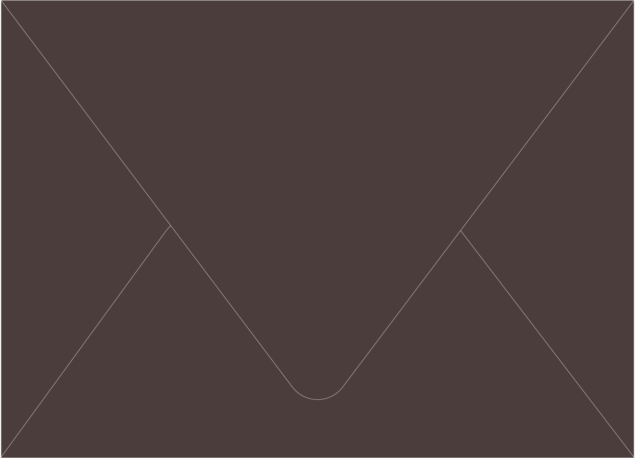 Envelope Color: Bitter Chocolate