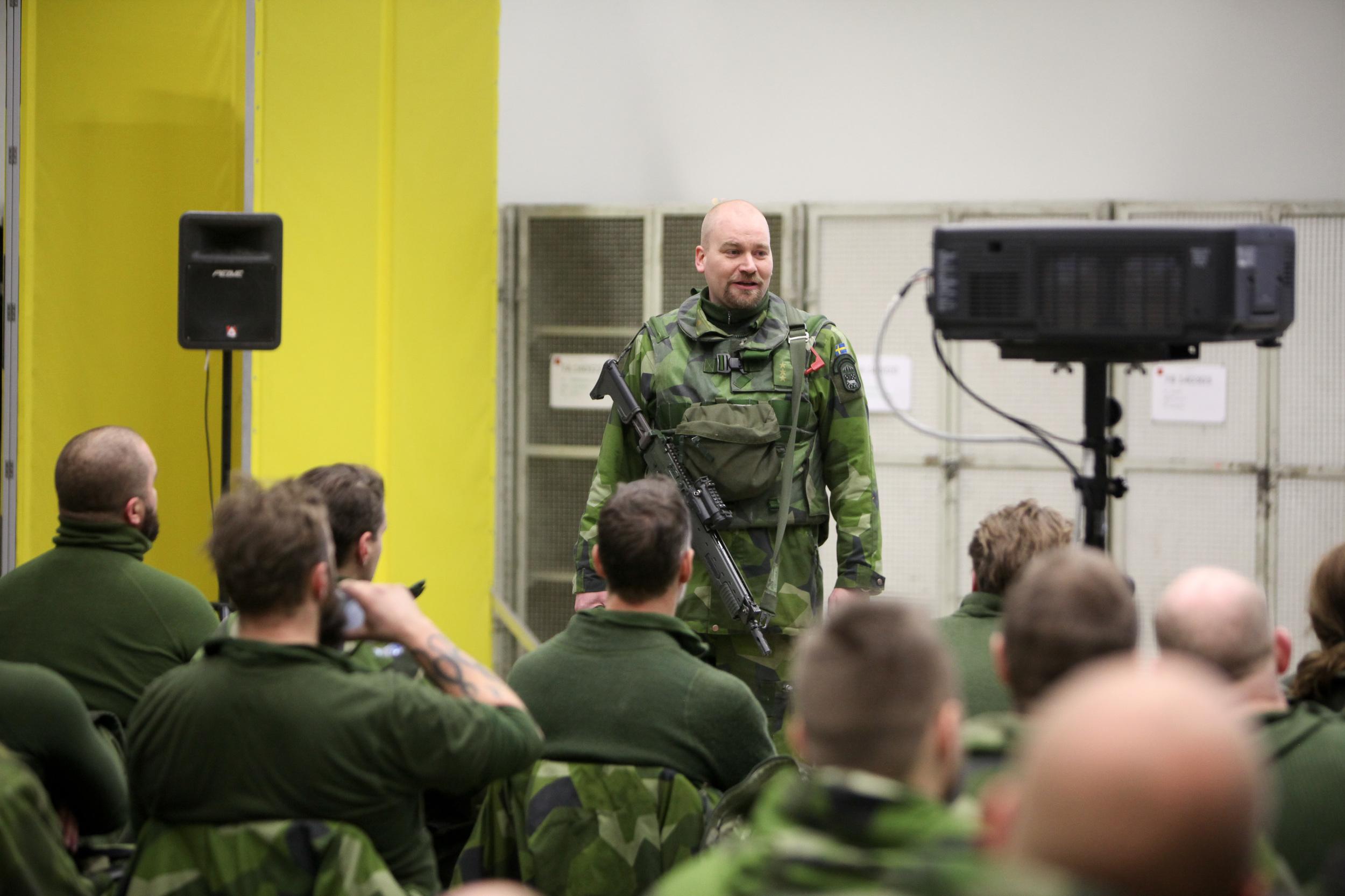 Magnus Förare.Foto: Mats Carlsson/Försvarsmakten