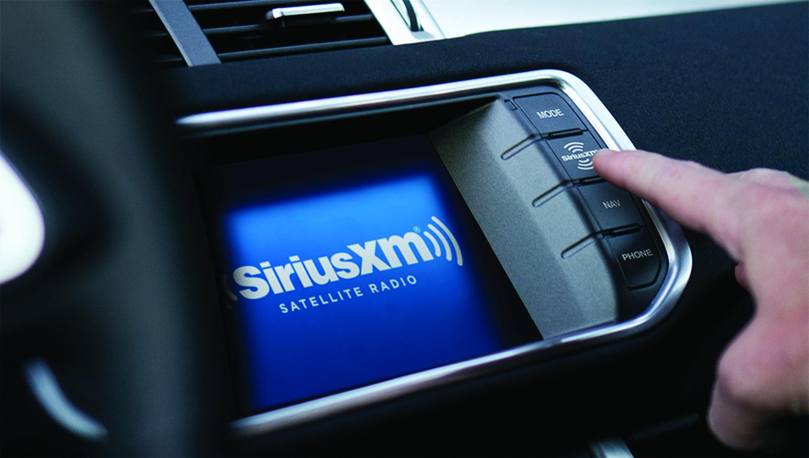 Commercial-free music with SiriusXM Satellite Radio