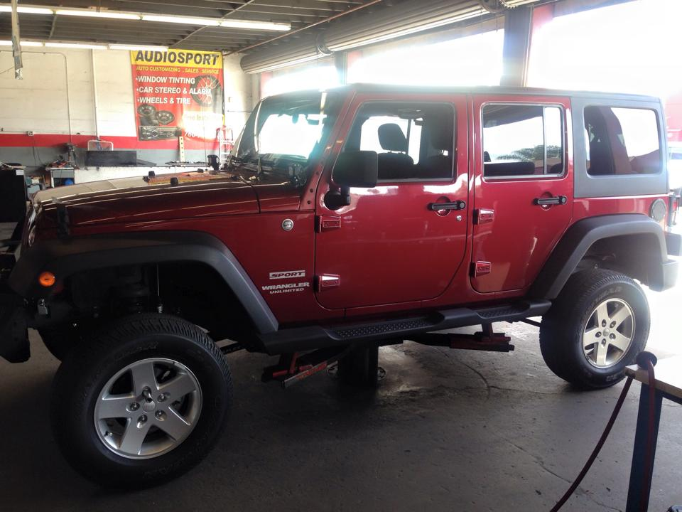 Suspension and Lift Kit