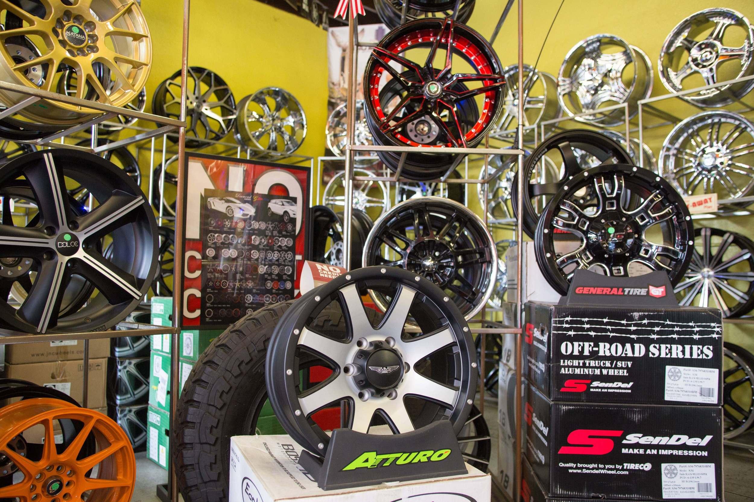 Rims & Wheels in Escondido, California.