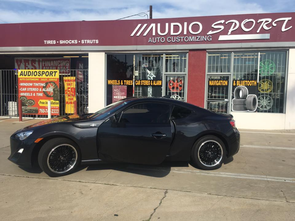 Audiosport Escondido is the place to get Window Tinting